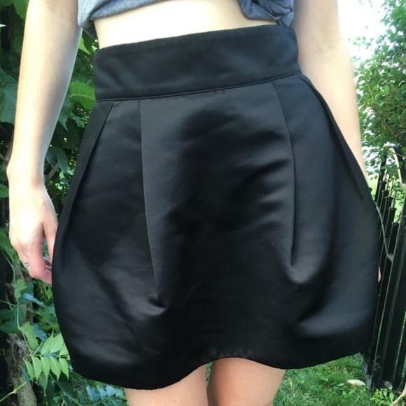 Dresses & Skirts - Black Satin Tulle Skirt